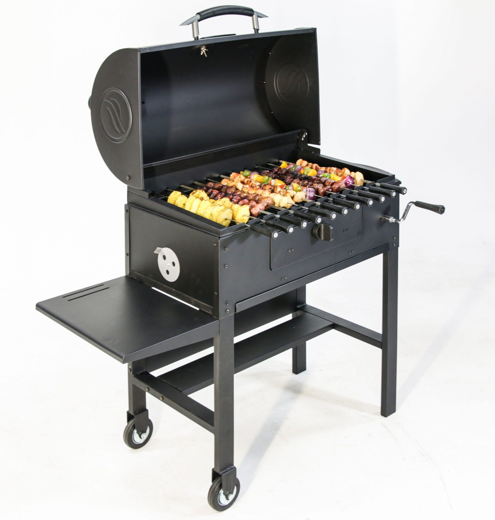 Bring the tasty grilling occasion everyday by choosing this durable Kingsford Ranchers XL Charcoal Grill or Smoker in Black