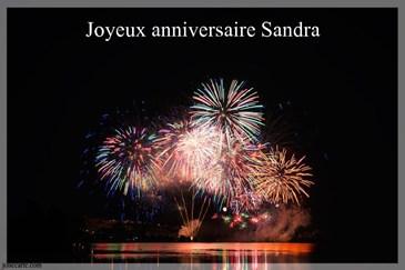 Anniversaire Du Jour Joyeux Anniversaire Sandra Sandwrap
