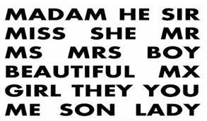 Preference Mr Ms Miss Mrs Etc Toluna