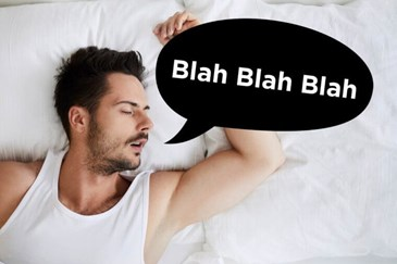 Image result for you speak while you sleep