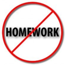 homework should never be assigned to students These days, students are obessed with their assignments, they don't finish their homework, and they should bring their homework back home while students should grow up as a well-rounded person.