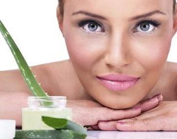 como aplicar el aloe vera natural en la cara