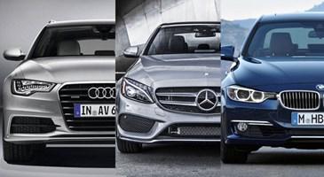 Audi Vs Mercedes >> The Rivalry Between These Cars Bmw Vs Audi Vs Mercedes