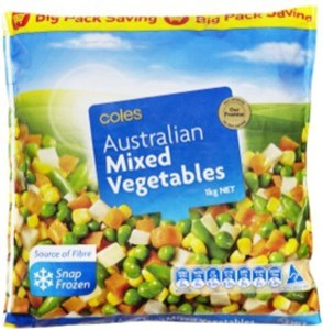 Do You Know That Most Of The Coles Frozen Vegetables Come From Edgells Birds Eye And Are Australian Grown Toluna