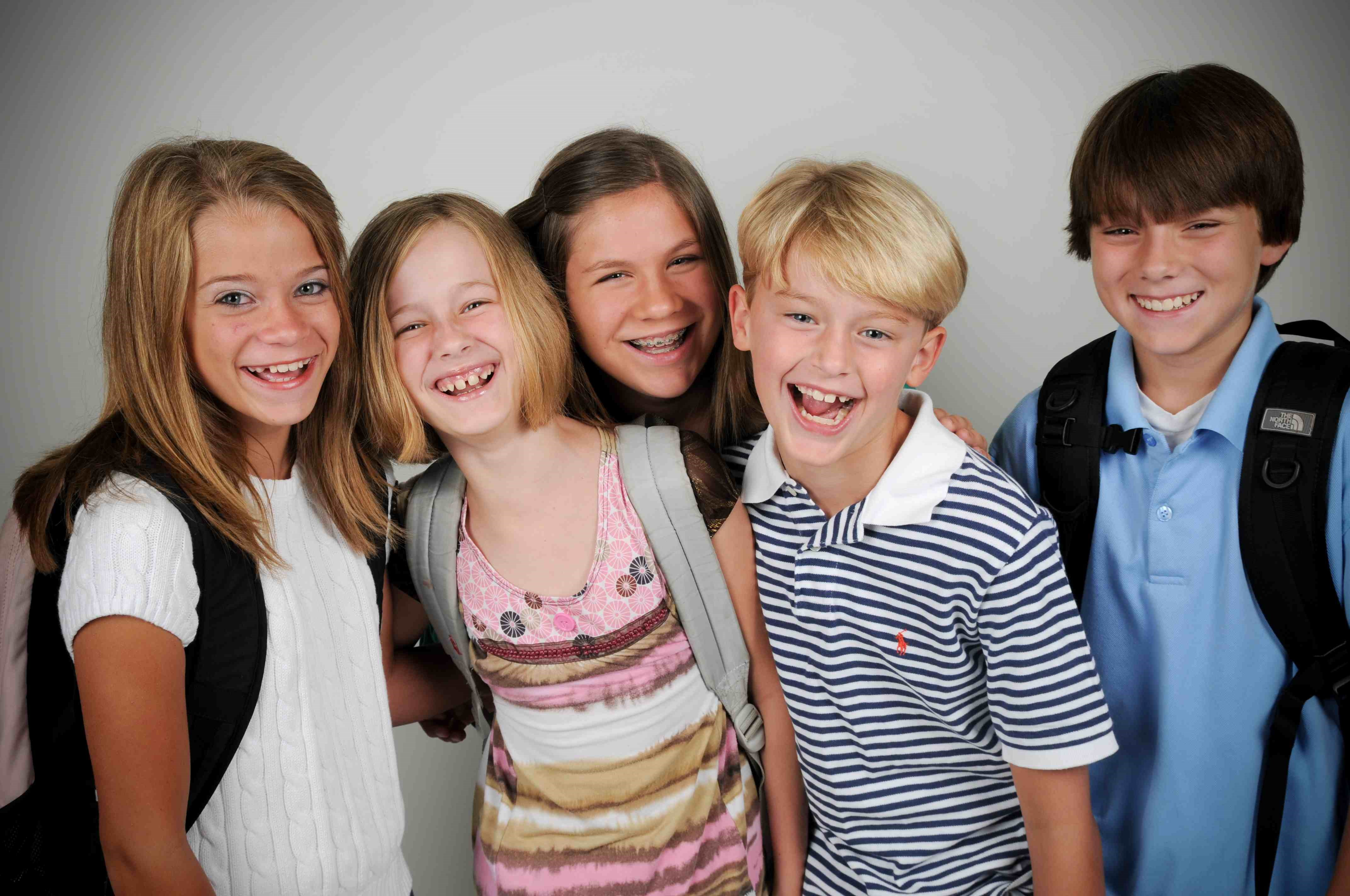 Humping group teens