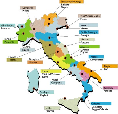Cartina D Italia Con Capoluoghi Di Regione.Quale Capoluogo Di Regione Italiana Non Hai Mai Visitato Parte 1 Multiplo Toluna