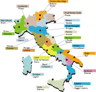 Cartina Italia Capoluoghi Di Regione.Quale Capoluogo Di Regione Italiana Non Hai Mai Visitato Parte 1 Multiplo Toluna