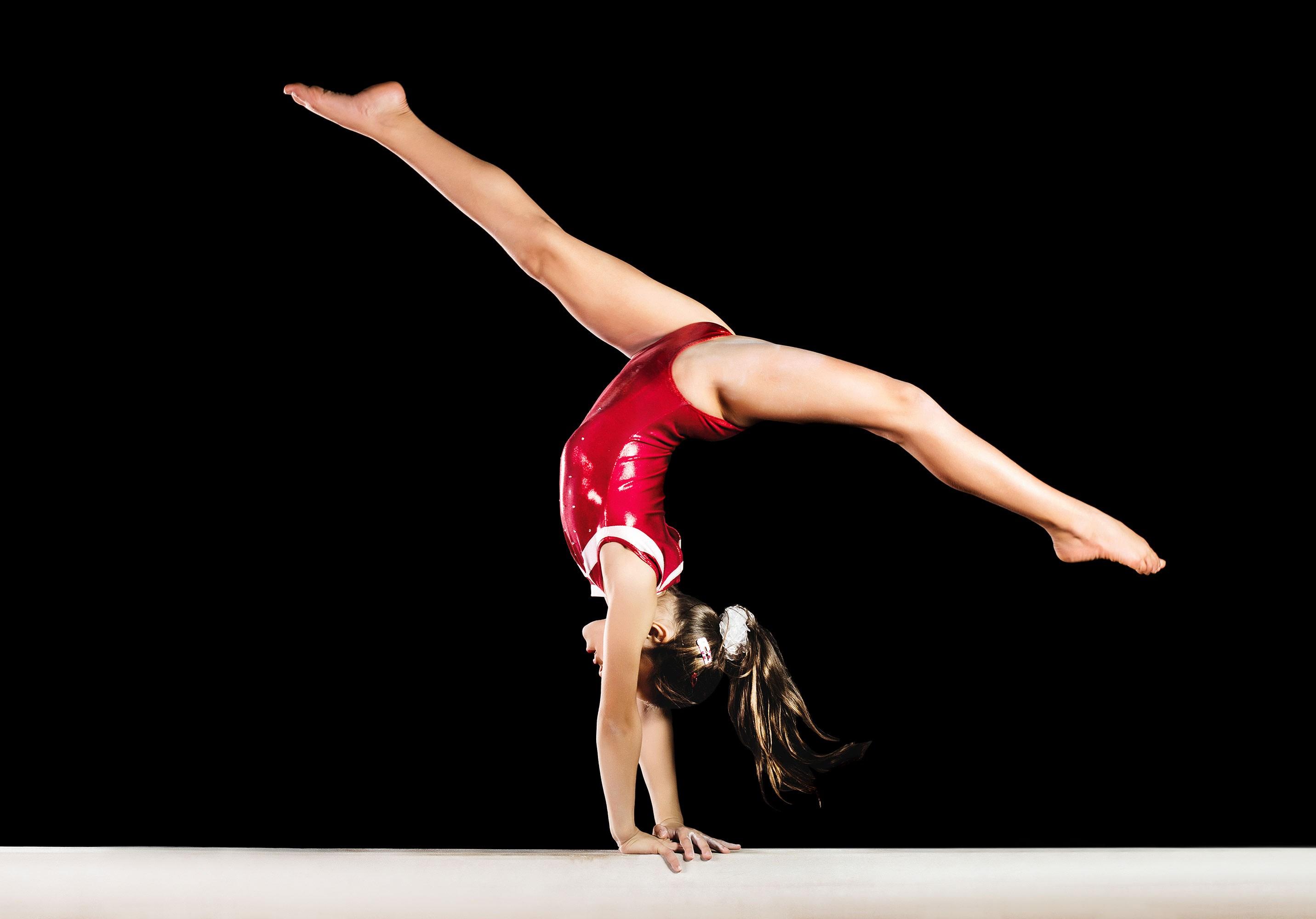 младенчестве она видео гимнастика девушки догадалась, что она