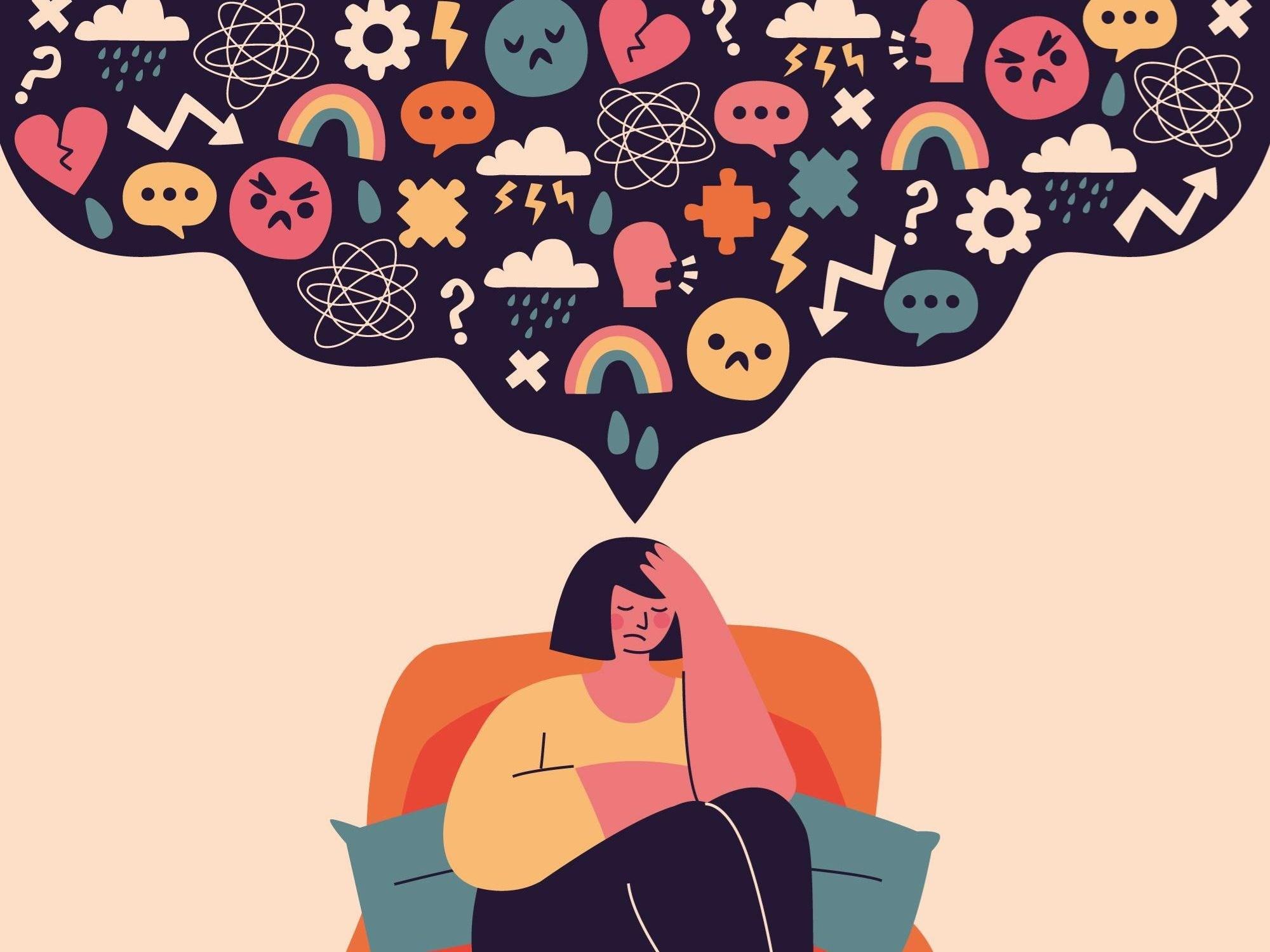 tristeza e saúde mental